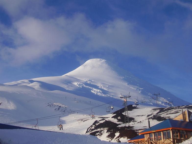 tours por centros de ski, Volcán Osorno