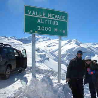 ferias, Valle Nevado