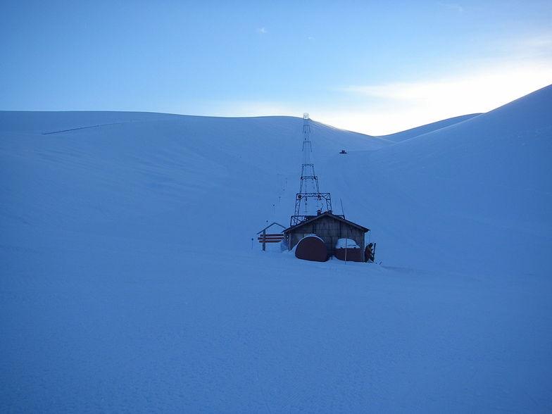 amanecer en el don pedro, Nevados de Chillan