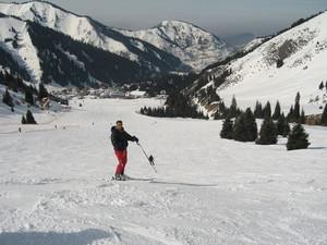 Skiing Kazakhstan, Shymbulak photo
