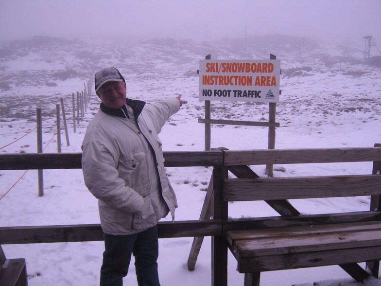 Ben Lomond snow