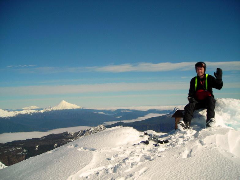 cumbre del volcan casablanca, Antillanca