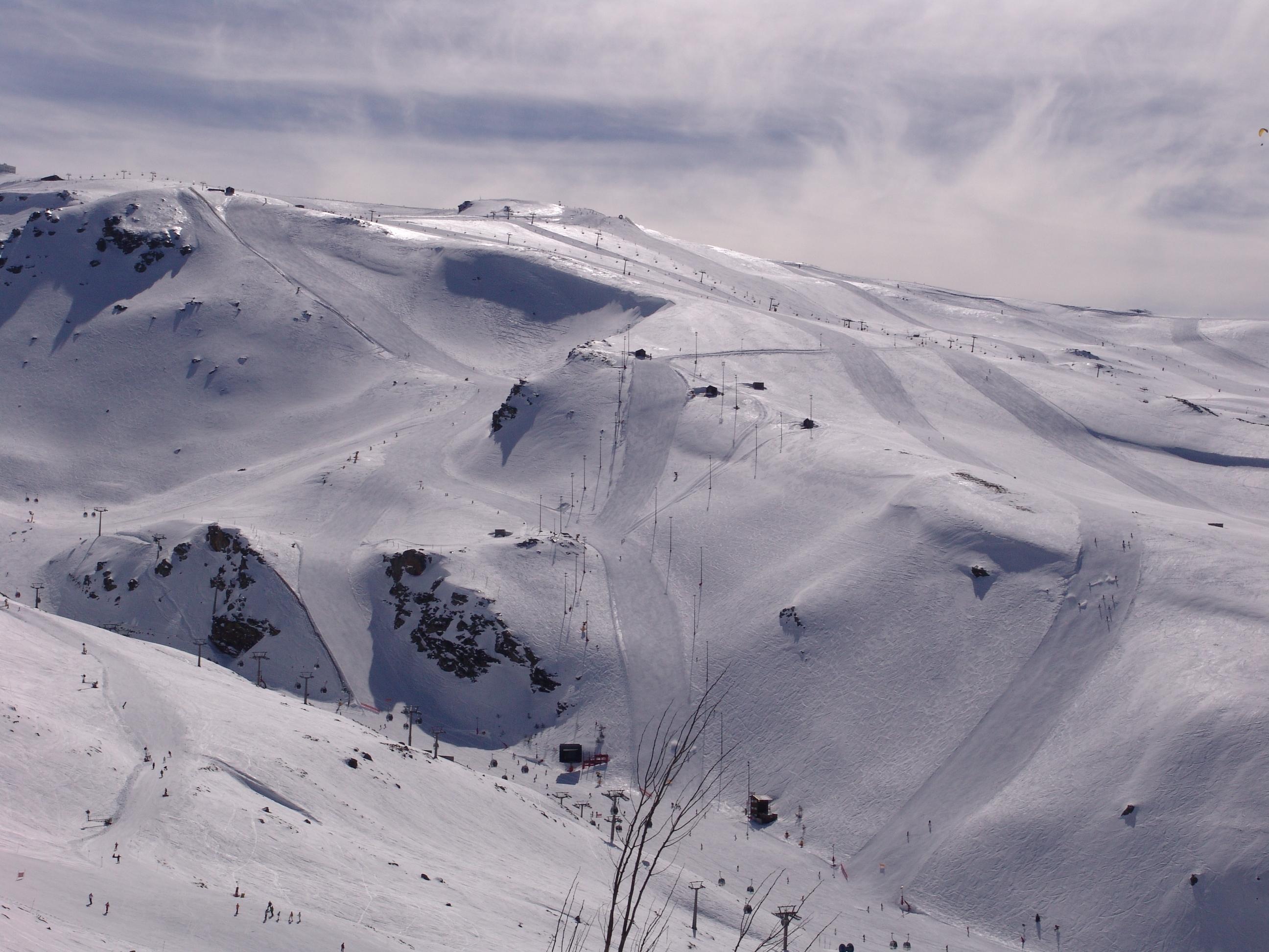 Temporada 2009-2010, Sierra Nevada