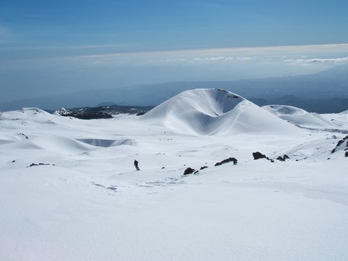 Mount Etna Nicolosi Ski Resort by: massimo
