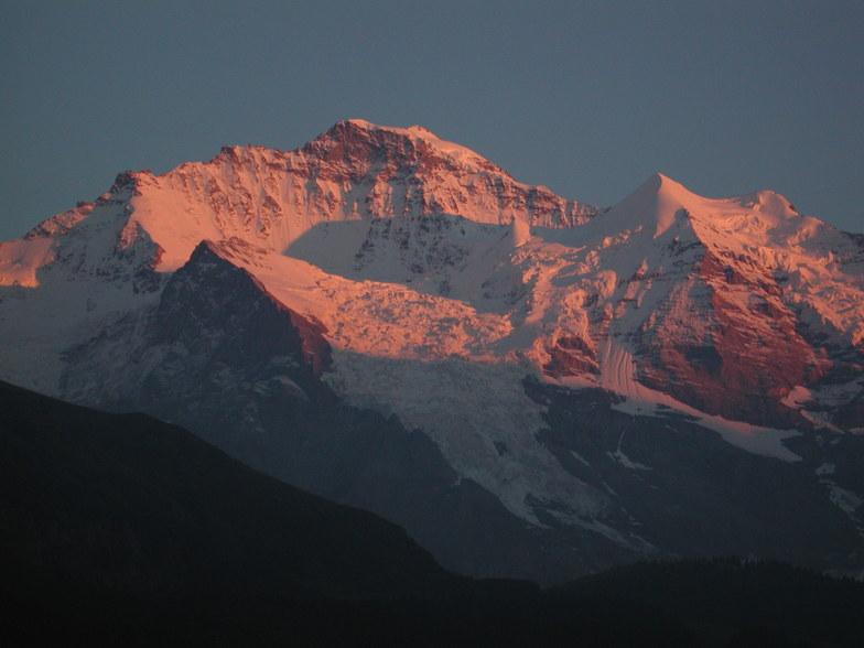 Wengen Jungfrau 4158 m