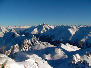 Over the Tirol, St. Anton photo