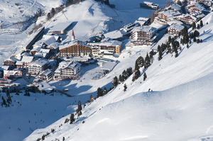 Obergurgl and the hotel Edelweiss & Gurgl photo
