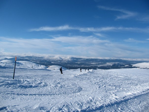 Cairngorm snow