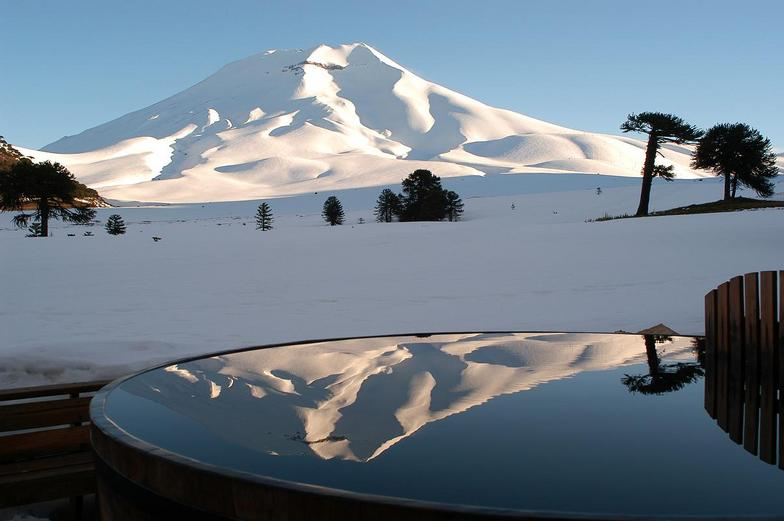 Corralco (Lonquimay) snow