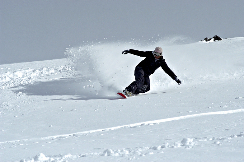 Snowboard, Corralco (Lonquimay)