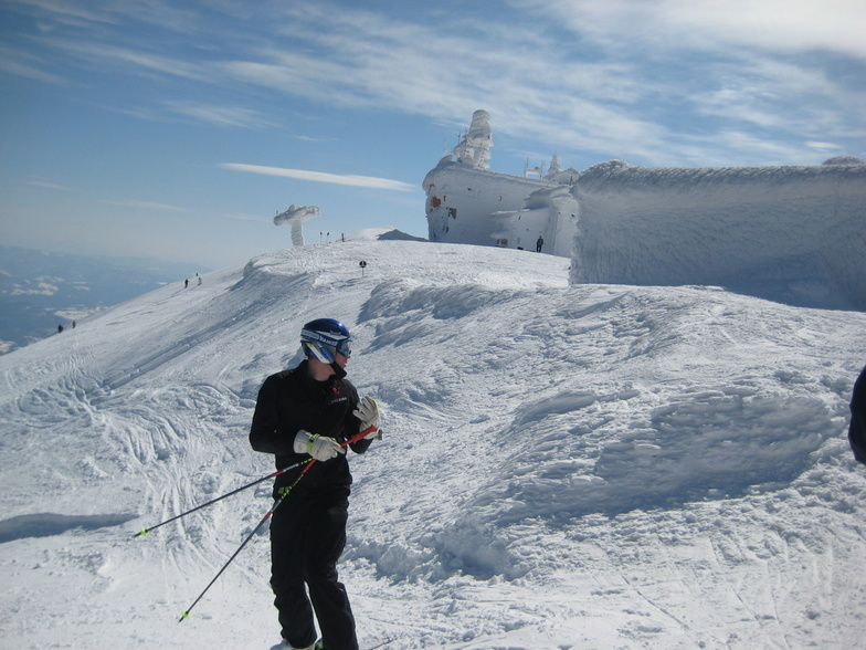 Sunny at the top, Bjelašnica