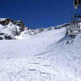 Glacier de Bellecote, La Plagne