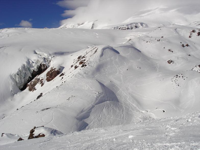 Mount Elbrus snow