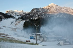 October 2010 Snowfall in Hemsedal photo