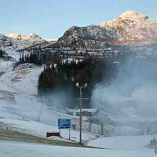 October 2010 Snowfall in Hemsedal