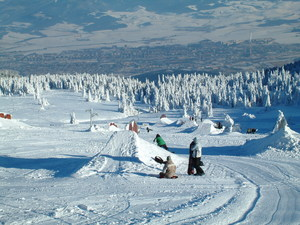 Snowboard park, Martinky photo