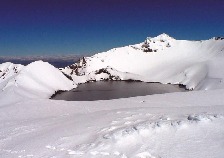 Ruapehu Crater, New Zealand, Turoa