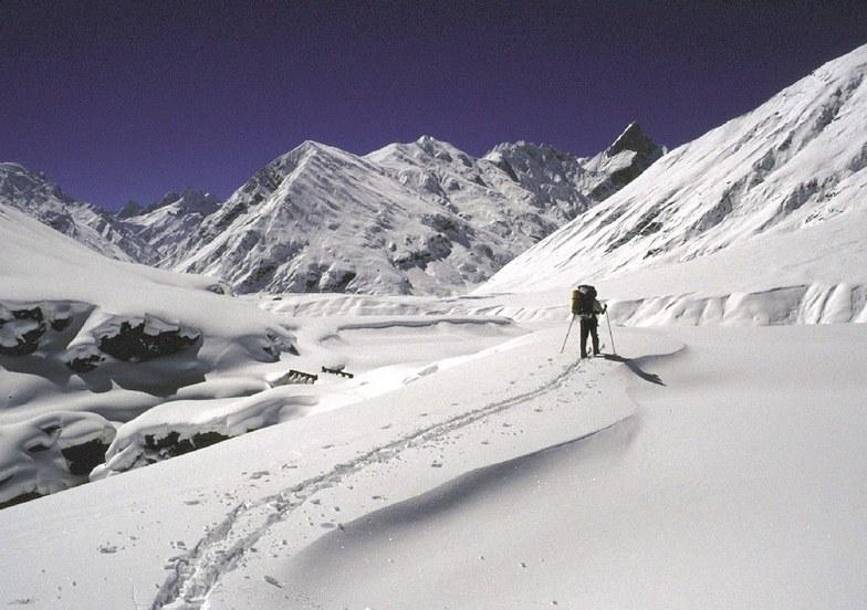 Padum (Zanskar Ski Scool) snow