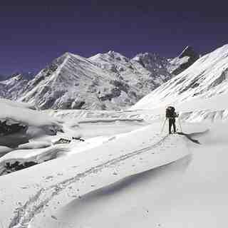 Zanskar, India, Padum (Zanskar Ski Scool)
