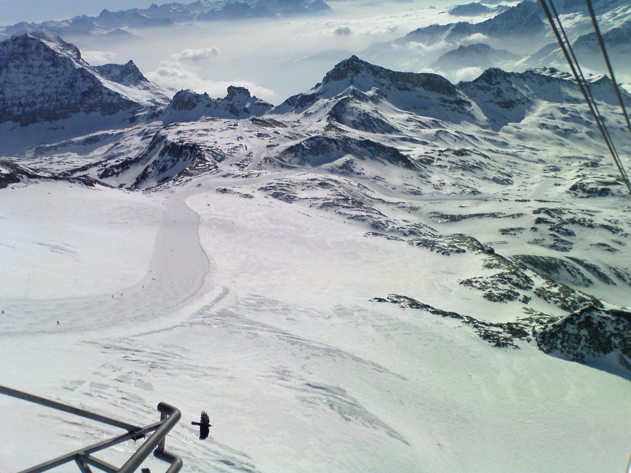 ON THE TOP OF CERVINIA'S LIFT, Breuil-Cervinia Valtournenche