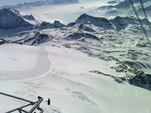 ON THE TOP OF CERVINIA'S LIFT, Breuil-Cervinia Valtournenche photo