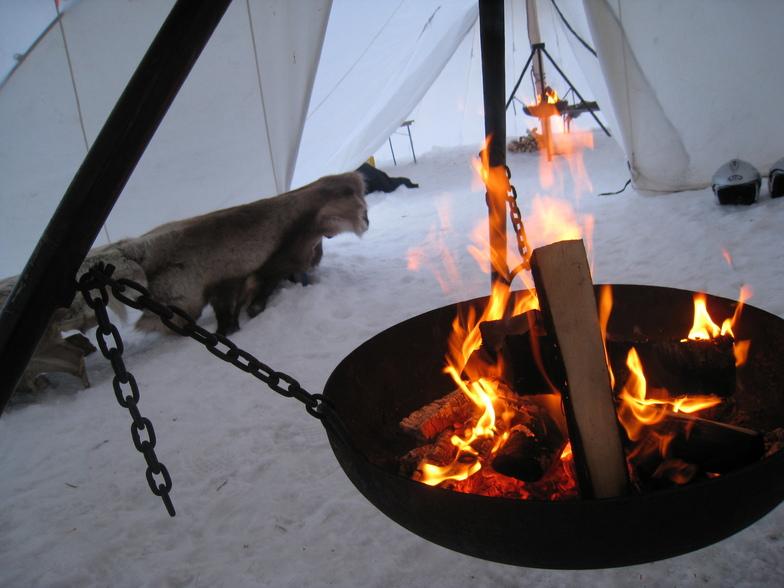Sami tent, Hafjell