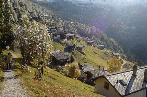 Chandolin Ski Resort by: paul sellen