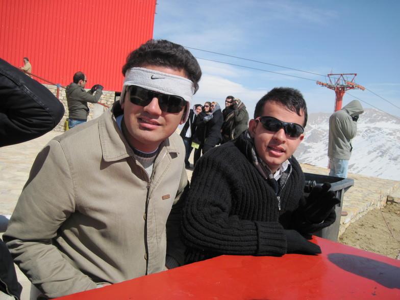 top mountain, Pooladkaf Ski Resort