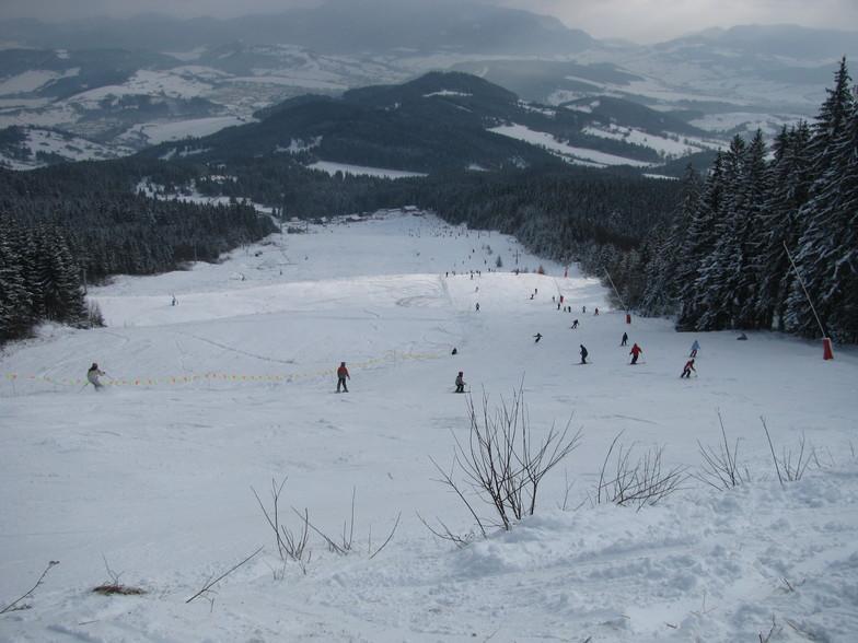 Kubinska Hola snow