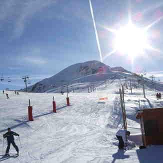 December 2008, Les Deux Alpes