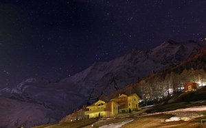 Starry Starry Night, Saas Fee photo