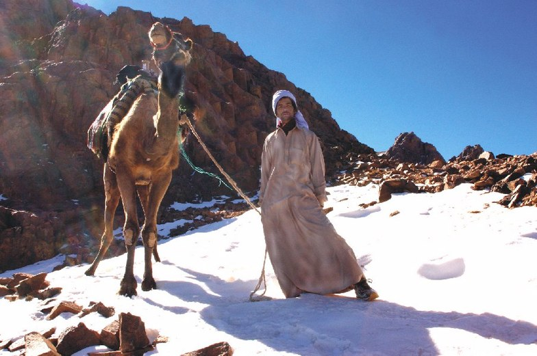 Jabal Katherina snow
