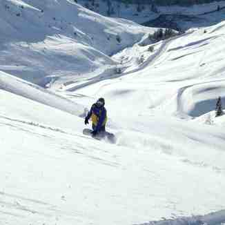 Snow boarding off-piste Bareges, Grand Tourmalet-Bareges/La Mongie