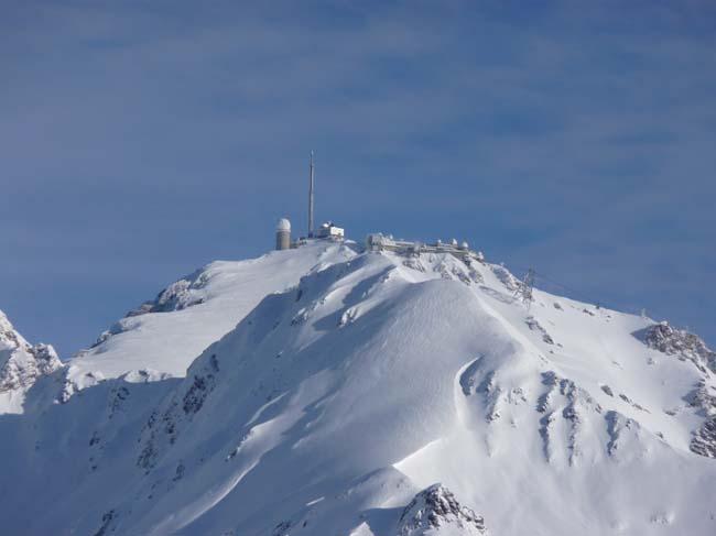 Pic du Midi 2877m taken from Bareges side, Grand Tourmalet-Bareges/La Mongie