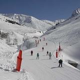Blue run down to the ski car park - Bastan, Grand Tourmalet-Bareges/La Mongie