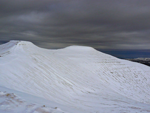 The 2 peaks, Pen-y-Fan photo