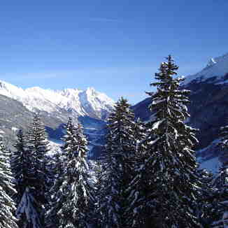 To St Jakob from St Anton, St. Anton