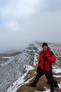 Crisp cold conditions, Pen-y-Fan photo