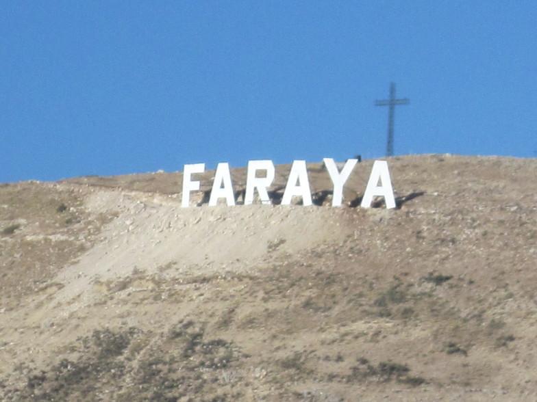 FARAYA Sign in faraya, Mzaar Ski Resort