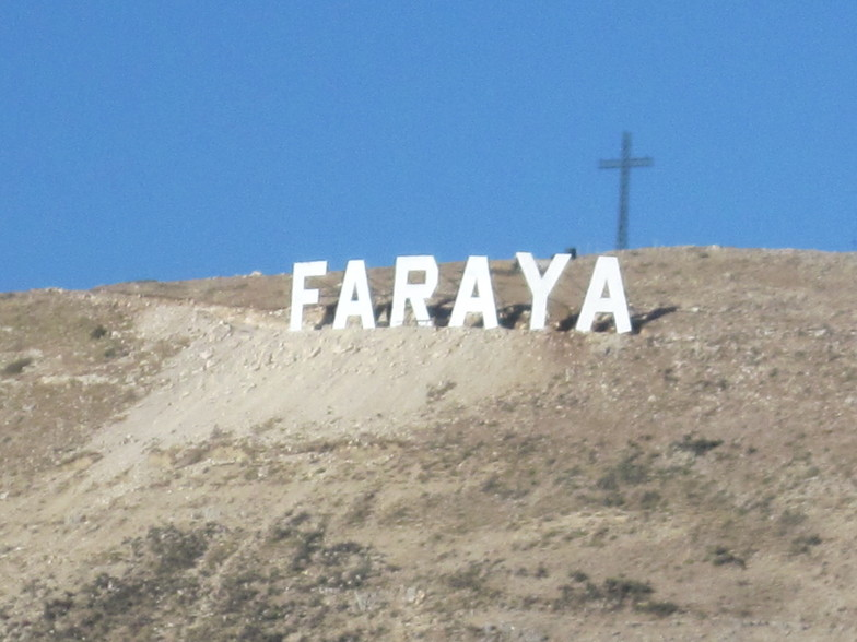 FARAYA Sign in faraya, Mzaar Ski Resort
