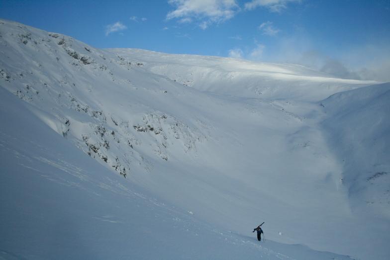 Hudson Bay Mountain snow