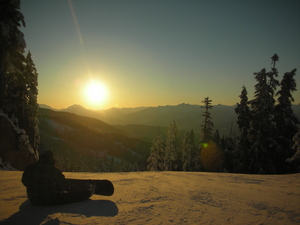 Contemplation, Whistler photo