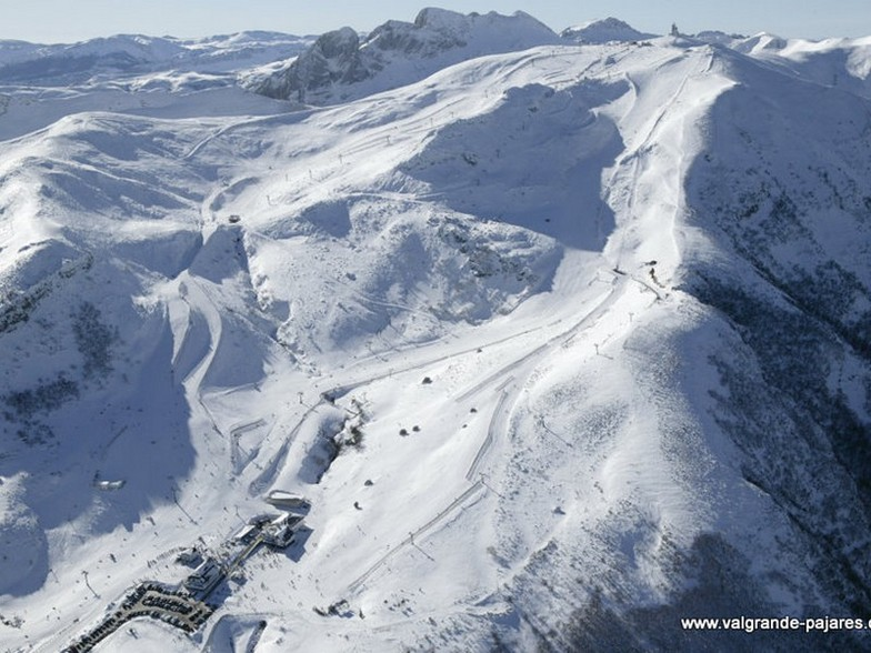Valgrande-Pajares snow