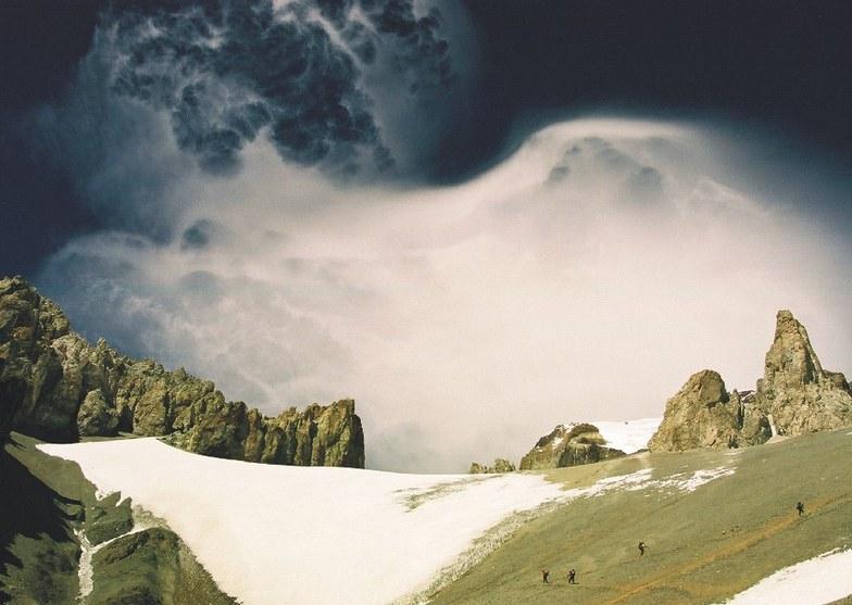 Aconcagua snow
