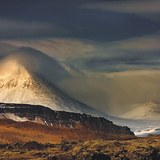 Mt. Baula in Borgarfjörður, Iceland, Iceland