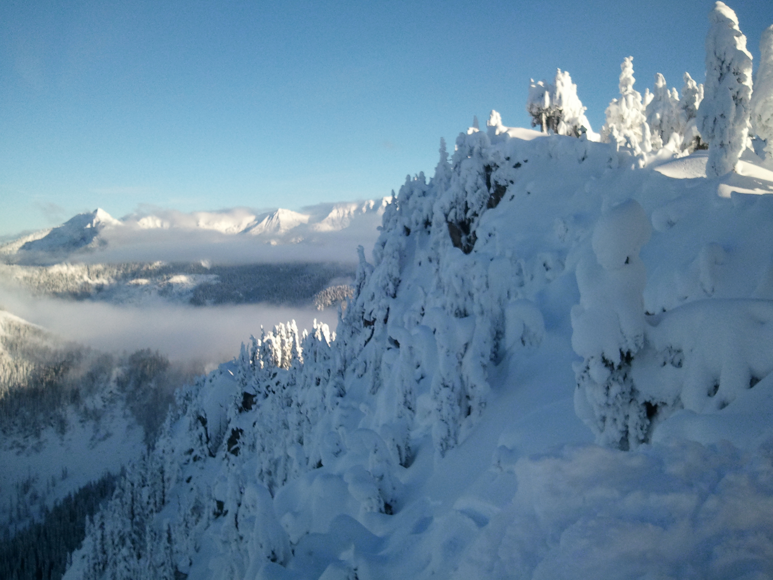 Top of the mountain, Stevens Pass