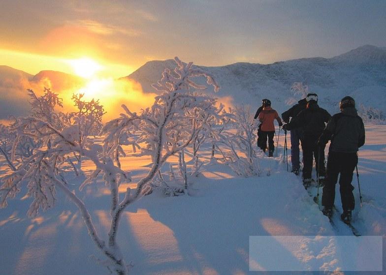 Kittelfjall snow