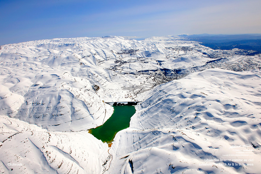 FARAYA FORM THE SKY, Mzaar Ski Resort