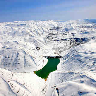 FARAYA FORM THE SKY, Mzaar Ski Resort