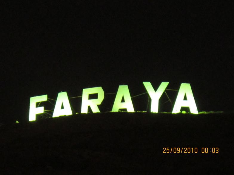 FARAYA AT NIGHT, Mzaar Ski Resort